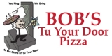 Bob's Tu Your Door Pizza Logo