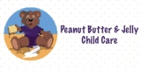Peanut Butter and Jelly Child Care Logo